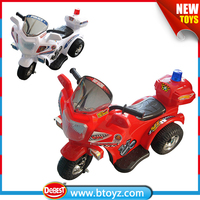 4V charge kids electric motorcycle with rear box