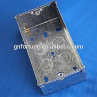 heat resistant flush steel box in 3x6 electric meter box cover