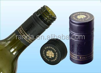 Wine bottle screw caps, glass bottle crown screw cap