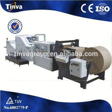 PLC control Roll Feeding brown kraft paper bag making machine