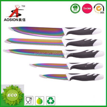 colorful stainless steel japanese chef knife