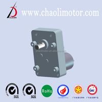High Torque 12V Low Speed DC Worm Gear Motor GW74-RS385 For Coffee Machine And Vending Machine
