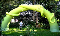 Attractive giant vine inflatable plant arch for advertising decoration K4071