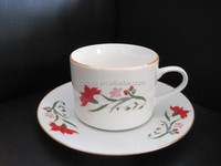 Bone china coffee cups and saucers,porcelain wholesale cup and saucer,personalized tea cups & saucers