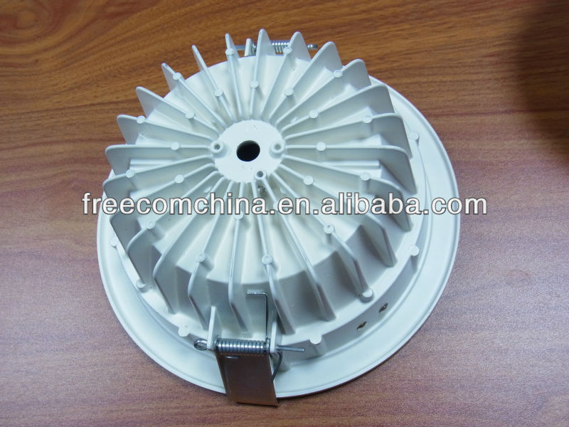 Round Aluminum LED led downlight casing(ONLY BODY CASE)