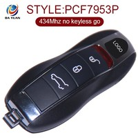 Smart car key for Porsche Cayenne Remote Key 3 Button 434 Mhz New 7PP 959 753BN AK005002