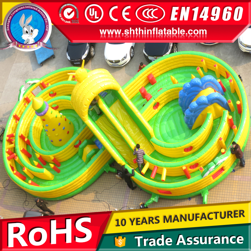 Inflatable Obstacle course for sale