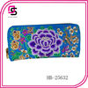 Purple flower Hmong embroidered bag tribal bohemian hobo wallet wholesale china Yiwu supplier