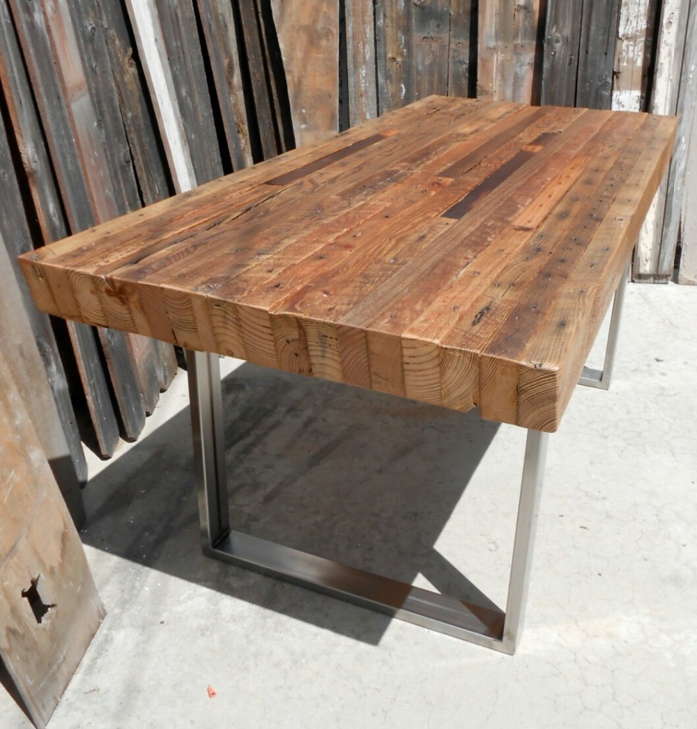 Metal Casters Coffee Table Base