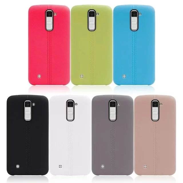 Colorful Rugged TPU Gel Soft Back Cover Case For LG <strong>K10</strong>