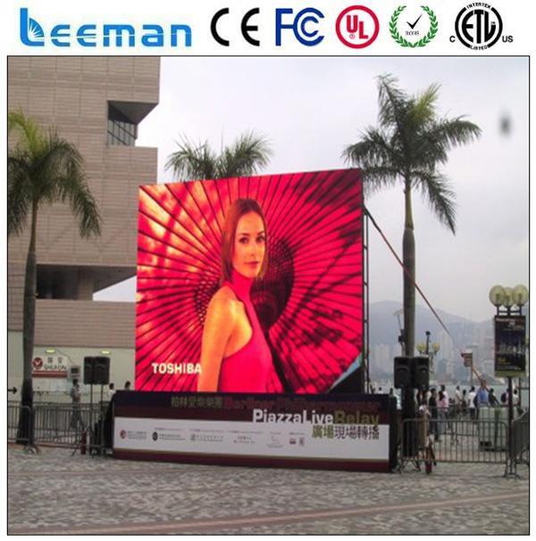 led mobile billboard truck hot new products for 2015 outdoor led displayp10 for advertising