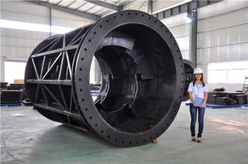 Rotary Drum Sieve Trommel Screen for ball mill