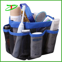Customized mesh shower bag, waterproof cosmetic storage