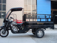 150cc 175cc 200cc 250cc Motorized Cargo Tricycle with Cabin