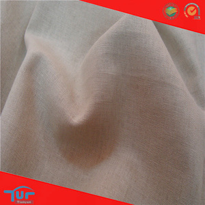 2014 Shaoxing Textile Wholesale Irish Linen Fabric Plain Dyed Cheap Washed Linen Fabric