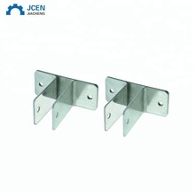Custom galvanized steel fence square post bracket