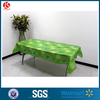 "54"" x 84"" Walmart party supplies disposable plastic table cover / cloth"