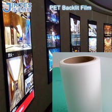 advertising backlit color pet film
