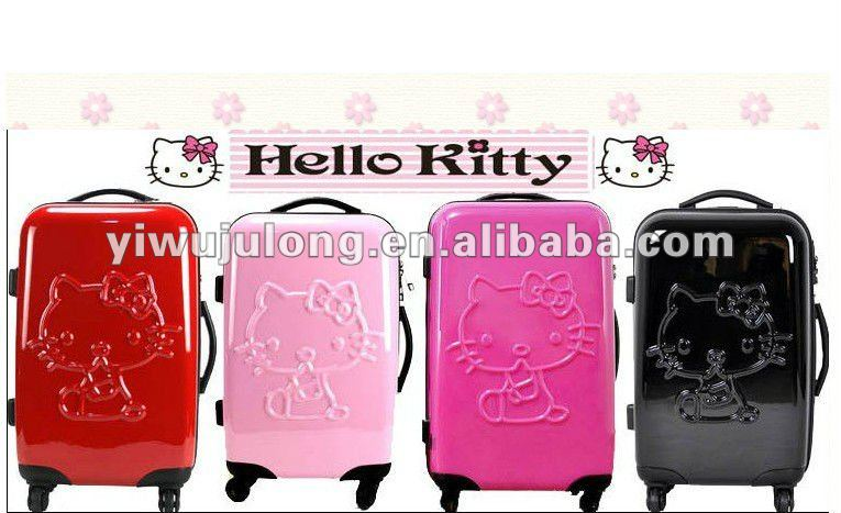 Hello Kitty Travel trolley luggage/Polycarbonate trolley bag