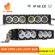 high power 12v 24v auto led warning light bar 4x4 offraod light bars led