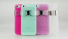 New Arrival Luxury Butterfly Bowknot Bow Tie Rubber Soft TPU Case Cover Skin Compatible for Samsung Galaxy Note 3 N9000