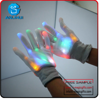 New products Custom Rave party led magic gloves for kids