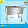 YM-XY-001 highest quality Stainless steel pet dog grooming bath tub