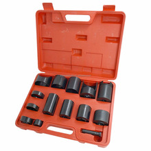 Auto Repair Fitter Tool 14Pcs Vehicles Universal Master Set Ball Joint Adaptor Kit