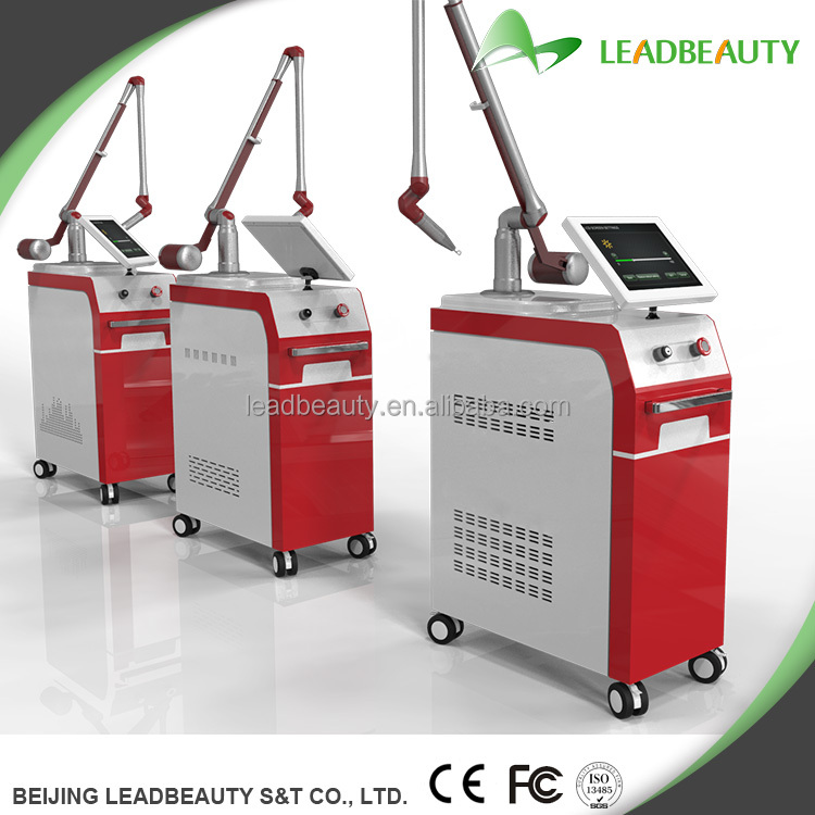 1064nm 532nm 1320nm professional long pulse q-switched nd yag laser tattoo removal equipment