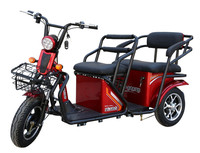 Disabled motorized tricycles with litnium battery/lead-acid battery