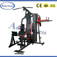 Gym Club Five Station Multi Gym Fitness Equipment Fitness Instrument