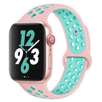 2019 Top Selling Sports Wristband Strap Silicone Band , Rubber Band For Apple Watch Series 4 44mm
