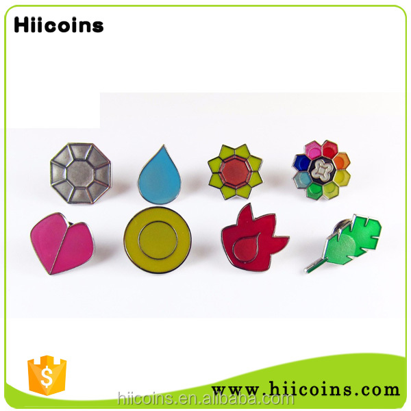 manufacture of pin badges wholesale <strong>custom</strong> no mold fee pokemon toys