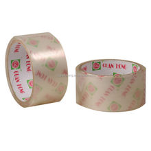 Factory hot sale super clear crystal BOPP Packaging adhesive tape