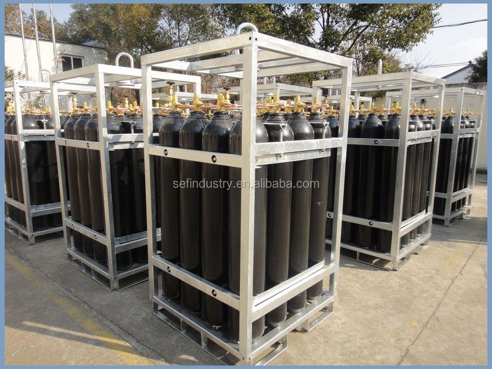 Dnv Offshore Used Gas Cylinder Racks Manifolded Oxygen & Oxygen Tank Storage Rack - Listitdallas