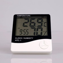 Digital Thermometer With <strong>Temperature</strong> And Humidity HTC-1