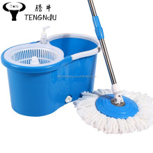 Easy Magic stainless steel basket microfiber spin mop