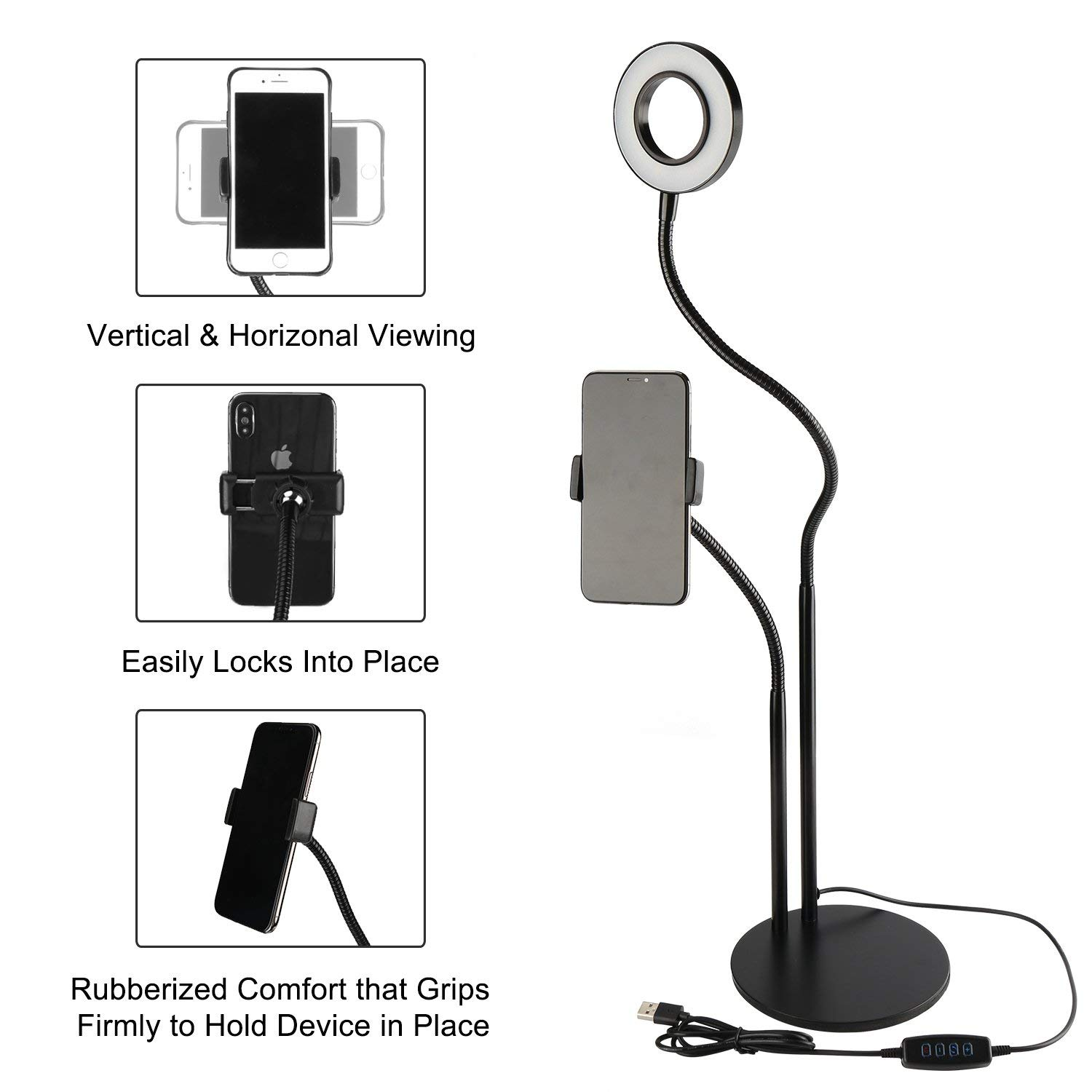 ring light stand led
