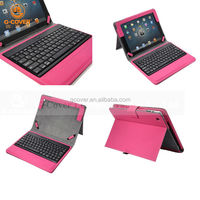 New Arrival Leather Bluetooth Keyboard Case For Ipad 2/Ipad 3