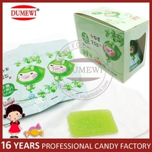 Sugar Coated Fruit Juice Chewy Gummy Soft Candy