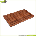 Teak wood design for safety's bath mat IWS53380
