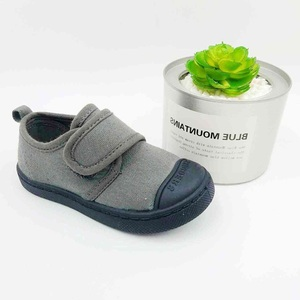Children Canvas Shoes Girls Boys Sneakers Soft Sole Casual Flat Lace-Up Kids Baby Fashion Loafers Shoe