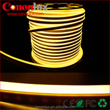 good flexibility,bent optionally 220v neon led strip 92leds/m 7.2w/m PVC material single color rgb led strip neon 220v
