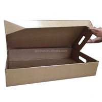 waxed frozen food carton box packaging for minus degree environment