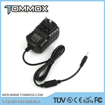 3G Tablet Charger 12V 1.5A 18W wall plug for Lenovo Miix 10 Tablet with 3.0*1.1mm tip