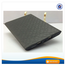 AWC701 High Capacity 18000 Power Bank Perfect for Ipad Leather and Aluminium Alloy Best Quality 20000mAh Power Bank