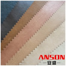 Steel Wire Embossed pu synthetic leather For shoes