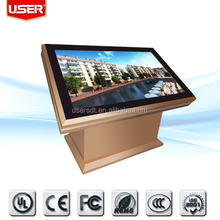 "47"" Interactive touch screen table/table with touch screen/multi touch screen table"