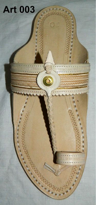 Indian leather chappals