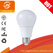 High quality bright E27 CE ROHS A60 5W7W9W12W indoor LED lighting bulb